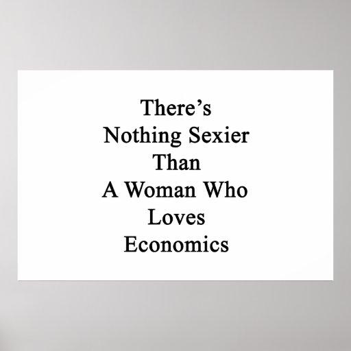 No hay nada más atractivo que una mujer que ame Ec Poster