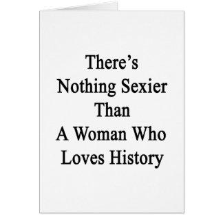No hay nada más atractivo que una mujer que ame Hi Tarjeta