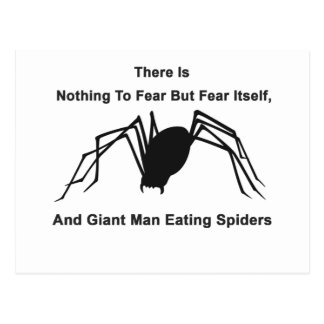 No hay nada temer sino temerse, y Gian Postal