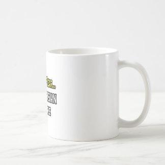No hay persa del miedo… aquí taza básica blanca