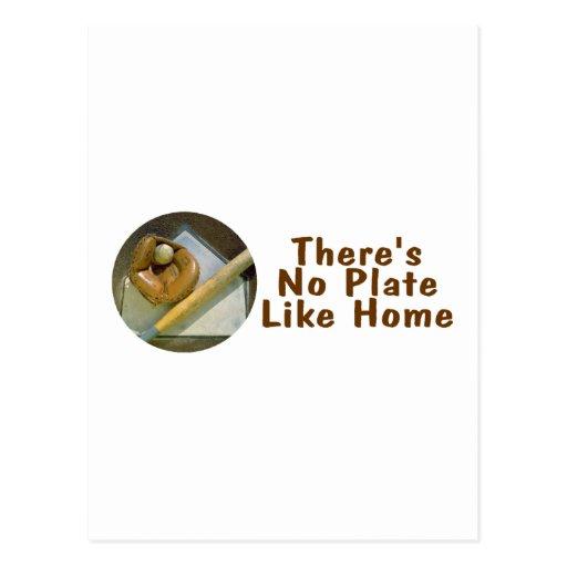 No hay placa como el hogar (el softball del postales