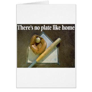 No hay placa como hogar tarjeton