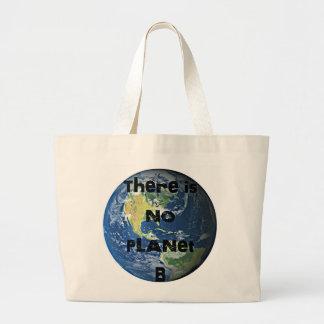 """No hay planeta """"B"""" va la bolsa de asas verde"""