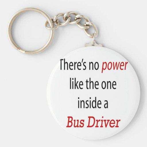No hay poder como el un interior al conductor del  llaveros