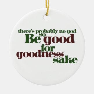 No hay probablemente dios ornamentos de navidad