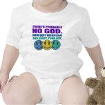 No hay probablemente dios traje de bebé
