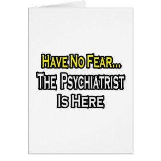 No hay psiquiatra del miedo… aquí tarjetón