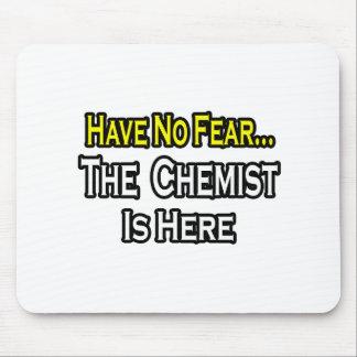 No hay químico del miedo… aquí alfombrillas de raton