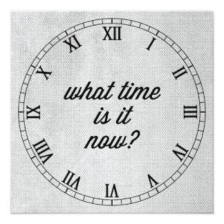 No hay relojes comunicado personal