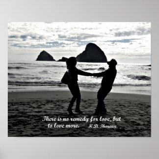 No hay remedio para el amor pero amar más póster