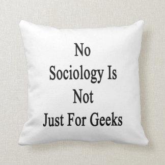 No hay sociología apenas para los frikis almohada