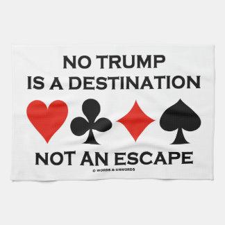 No hay triunfo un destino no un escape toallas