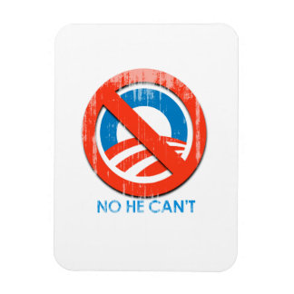 No He Cannot Faded png Flexible Magnets