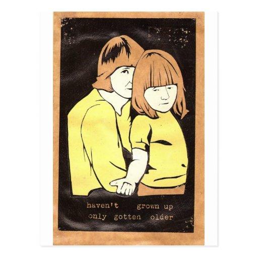 No he crecido tarjetas postales