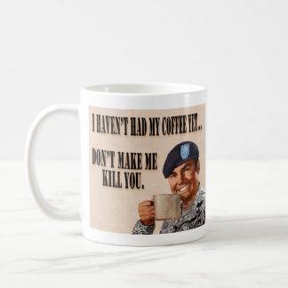 No he tenido mi café con todo… taza de café