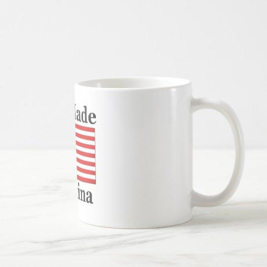 No hecho en China - americano Taza De Café