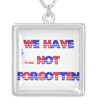 """""""No hemos olvidado"""" el collar"""