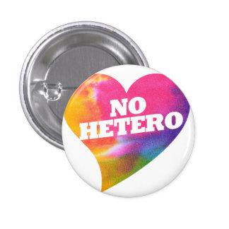 No Hetero Pinback Buttons