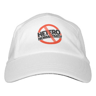 No Hetero-Normativity - -  Headsweats Hat