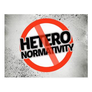 No Hetero-Normativity - -  Postcard