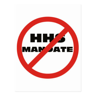 No HHS Mandate Post Card