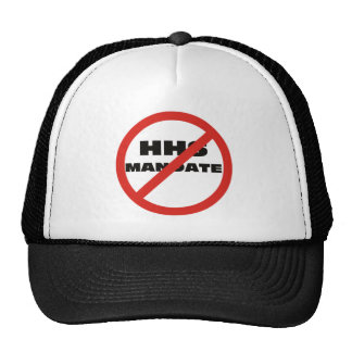 No HHS Mandate Trucker Hat