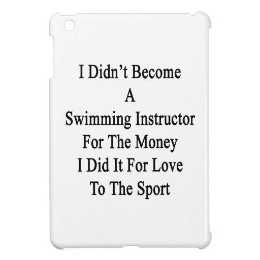 No hice instructor de la natación para el Mone iPad Mini Coberturas