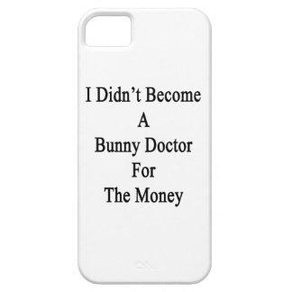 No hice un doctor For The Money del conejito iPhone 5 Cárcasas