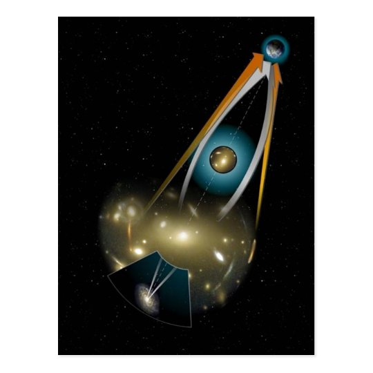 No higher resolution available. Gravitational_lens Postcard