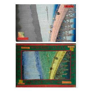 No higher resolution available. Hiroshige_Van_Gogh Postcard