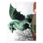 No higher resolution available. Ljubljana_dragon.J Postcard