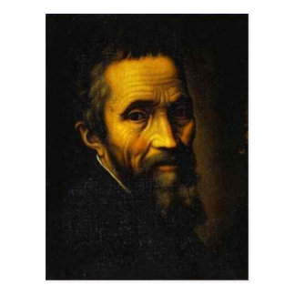 No higher resolution available. Michelangelo_portr Postcard