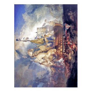 No higher resolution available. Turner,_The_Battle Postcard