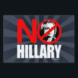 "NO HILLARY BOLD - Anti Hillary png white - .png Lawn Sign<br><div class=""desc"">Anti-Hillary Yard Signs 
