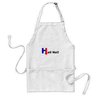 No Hillary Delantal