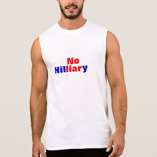 No Hilliary men's muscle shirt