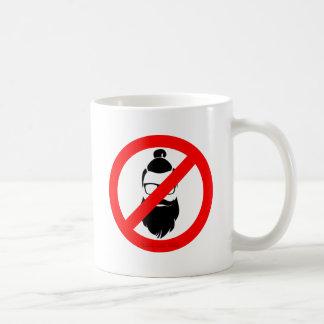 No Hipsters or Man Buns Coffee Mug