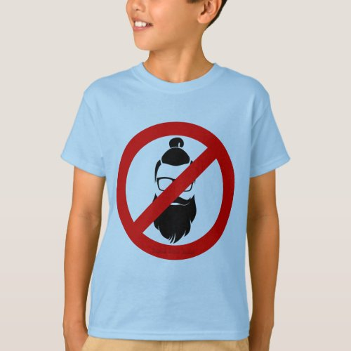 No Hipsters or Man Buns T_Shirt