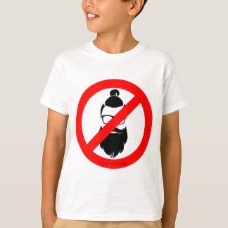 No Hipsters or Man Buns T-Shirt