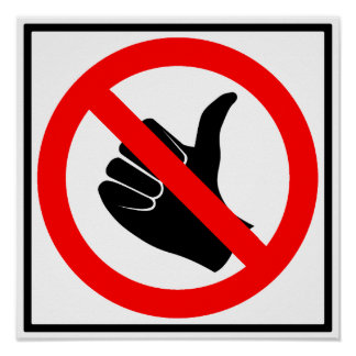 No Hitchhiking Highway Sign Posters