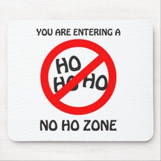 no ho zone mouse pad