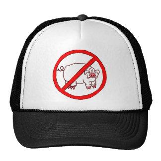 No Hogs Circle Trucker Hat