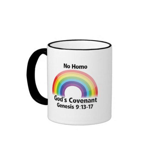 No Homo God's Covenant-Mug