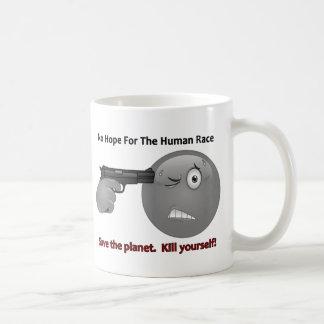 No Hope Emoticon Logo Coffee Mug