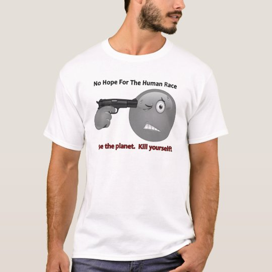 No Hope Emoticon Logo T-Shirt