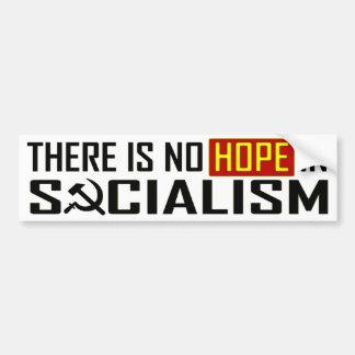 No Hope in Socialism Car Bumper Sticker