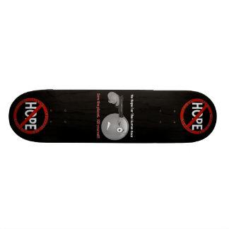 No Hope Logos Black Skateboard Deck