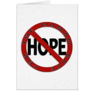 No Hope Sign Card