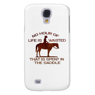 no hour of life is wasted galaxy s4 cover