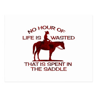 no hour of life is wasted rusted red.png postcard